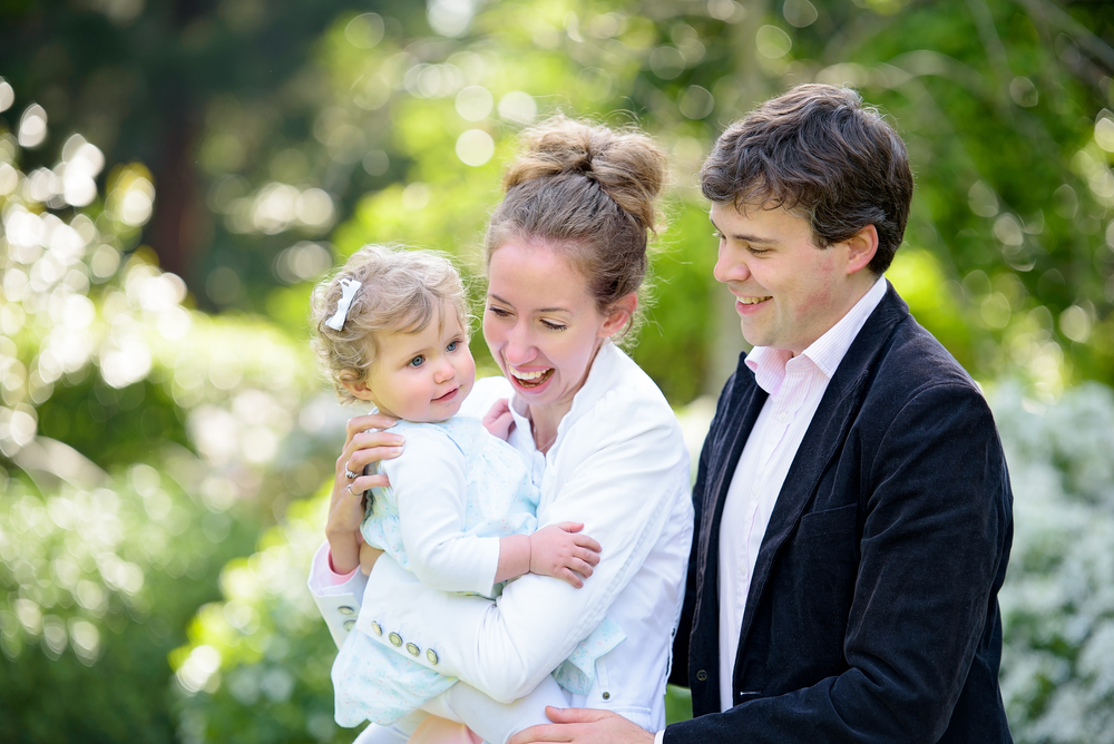 Family portrait photography, Holland Park