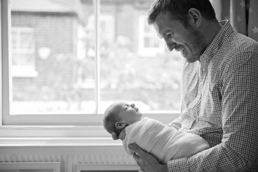 Natural family photography | Black and white portraits | London