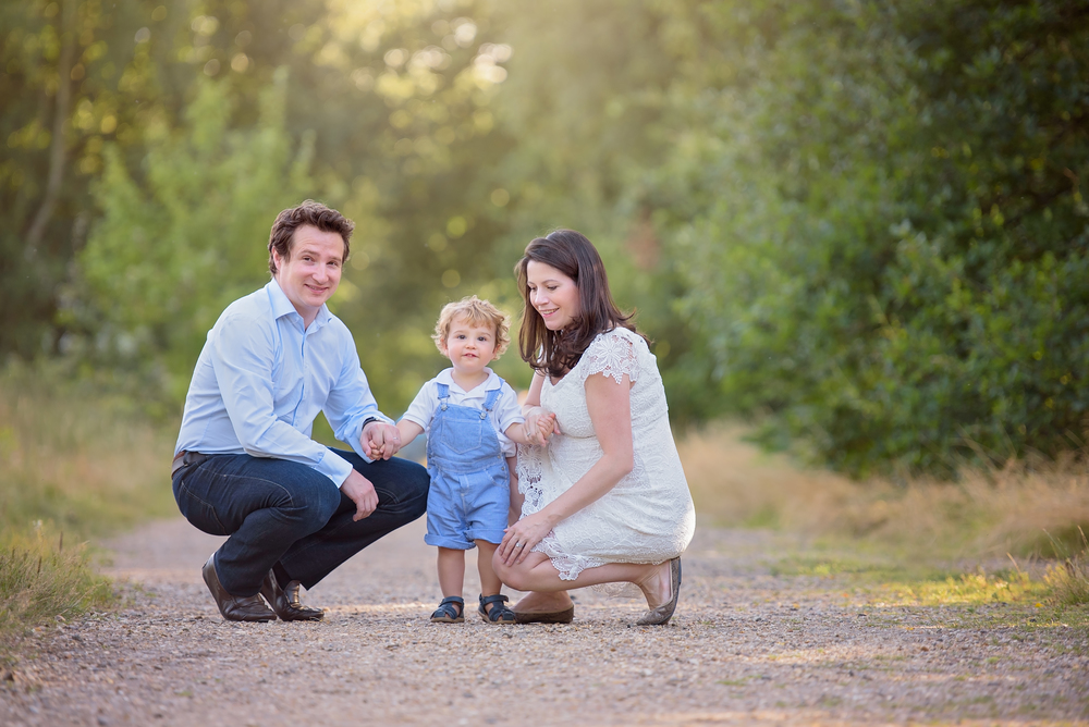 Natural family portrait photography London