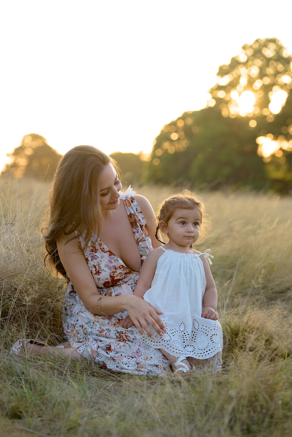 Family portraits at sunset | London | Richmond Park