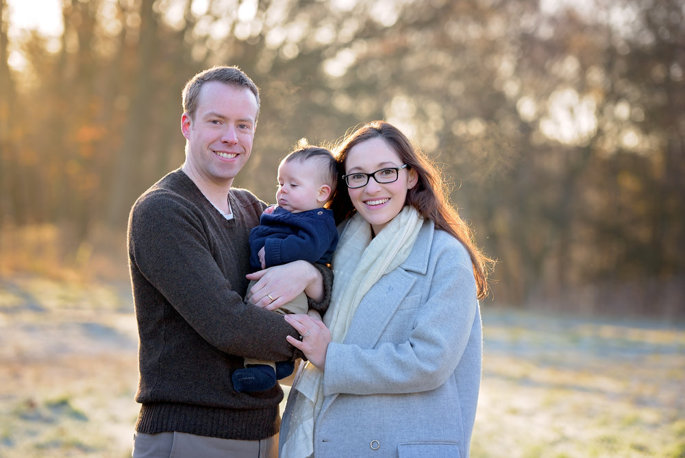 Outdoor family photoshoot Hampstead
