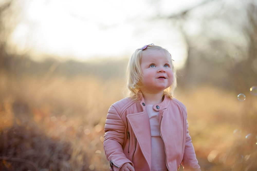 Children's portraits in Richmond Park