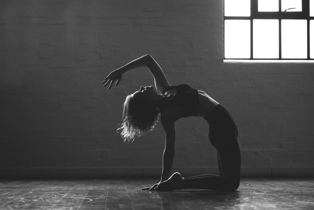 Beautiful yoga photography