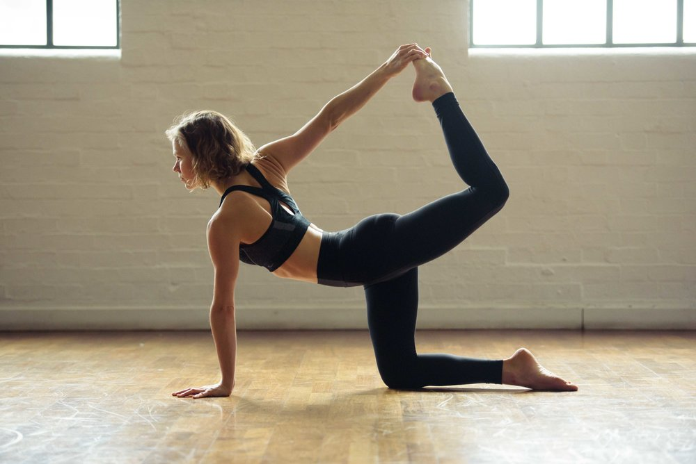 Indoor yoga photos