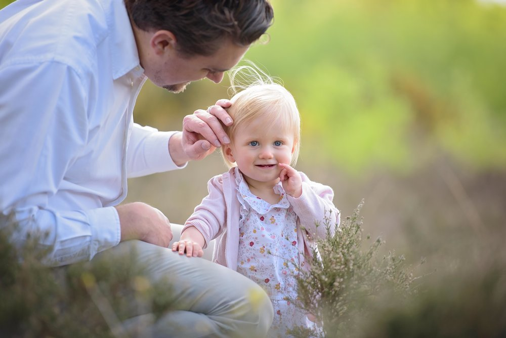 Sweet family portrait photography