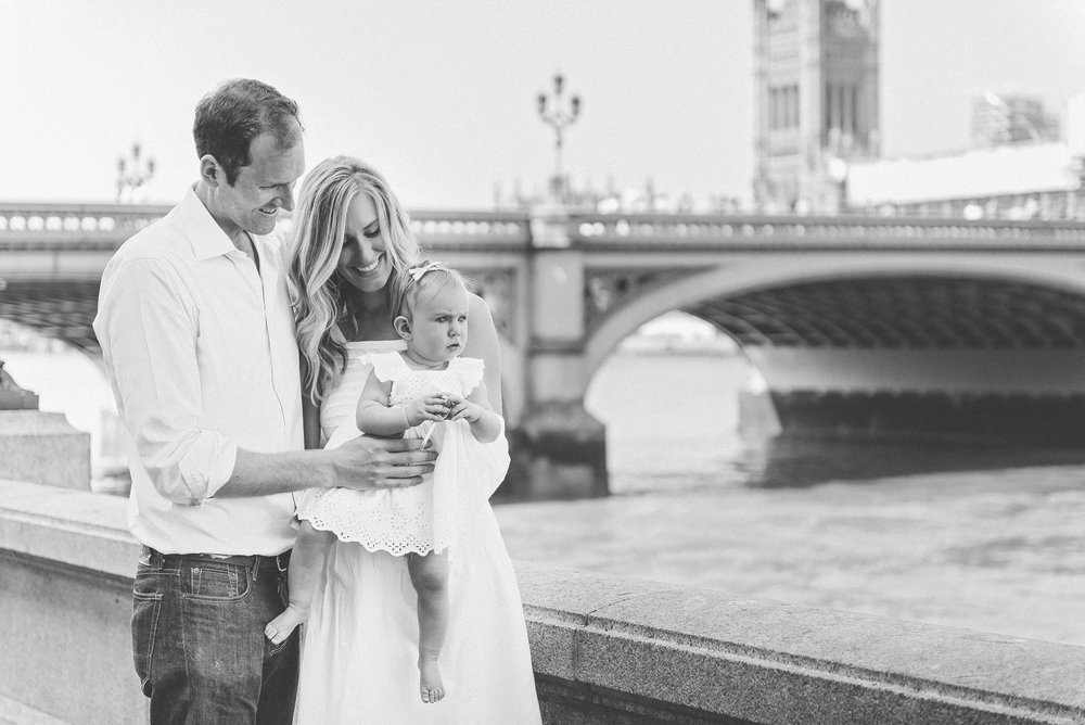 Family photography Westminster Bridge
