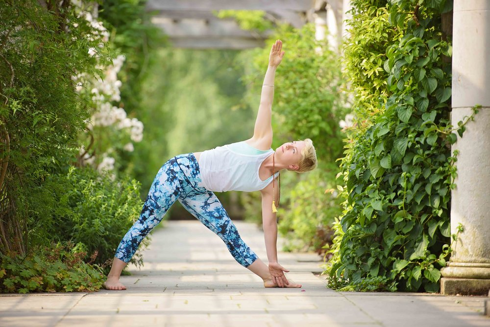Professional yoga photographers