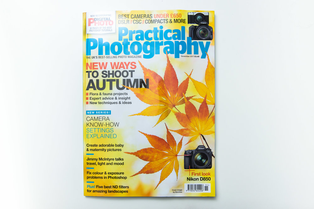 Feature in Practical Photography magazine