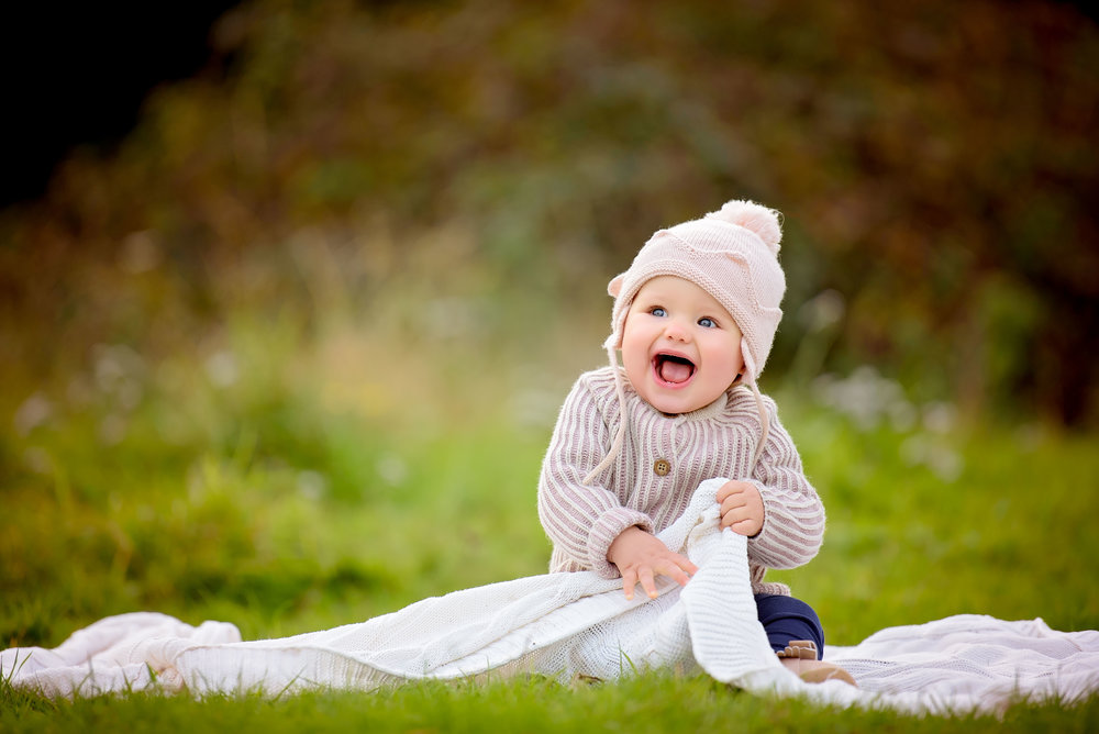 Natural baby photography