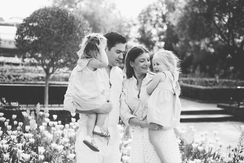 Black And White Family Portraits Heather Neilson Photography