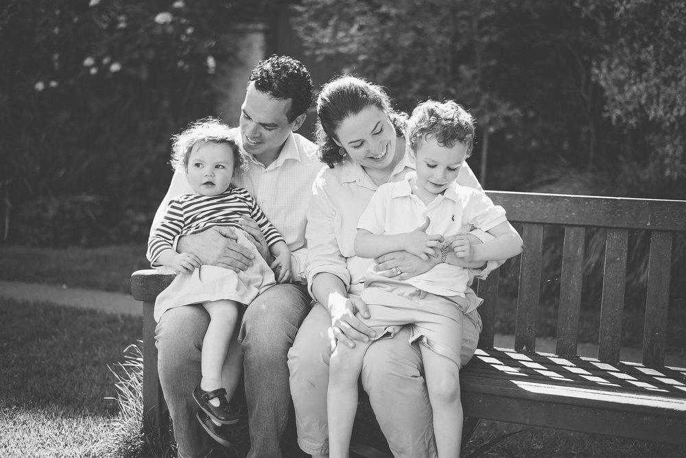 Outdoor family photoshoot London