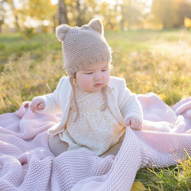 Chubby-cheeked goodness #8monthsold #bearhat #gorgeouslight