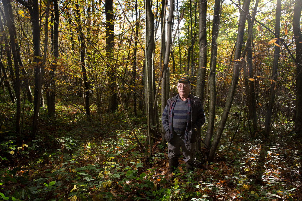 Keith Seymour woodland manager.