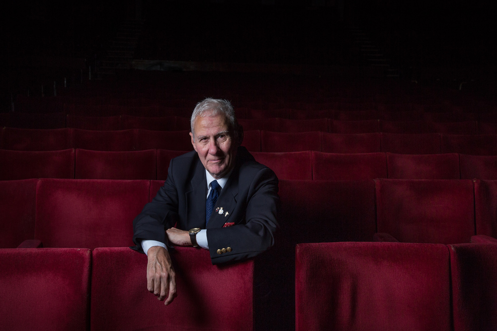 Colin Banks, War veteran and British Legion organiser for  Legion  Magazine