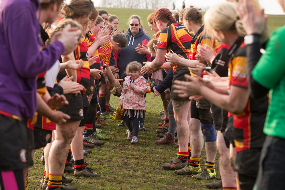 Medway Ladies Rugby. for  The Telegraph , a feature on the growing popularity of ladies rugby.