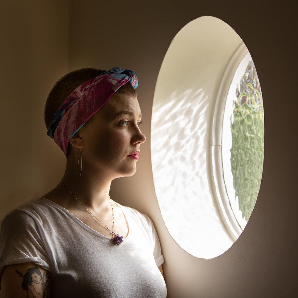 Grace Latter. Writer and brain tumour survivor for  Metro