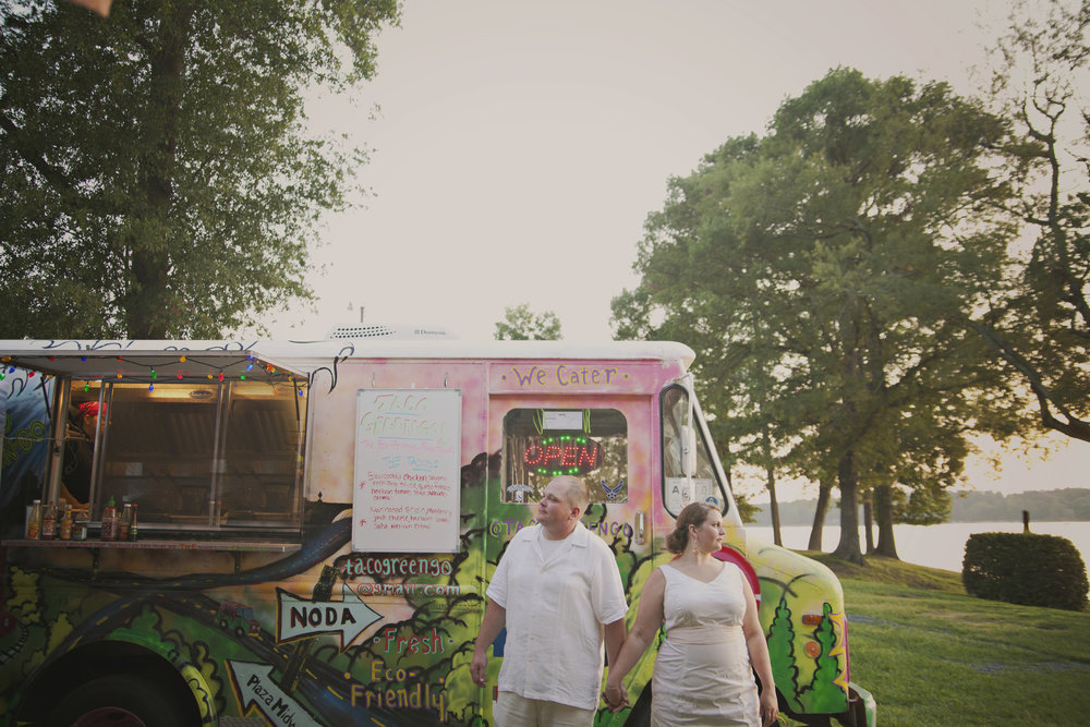 Have a food truck come to your reception!