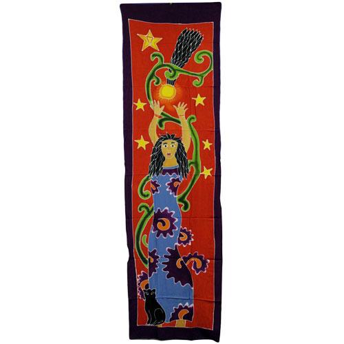 Diosa Estrellas (188 x 54 cm.)