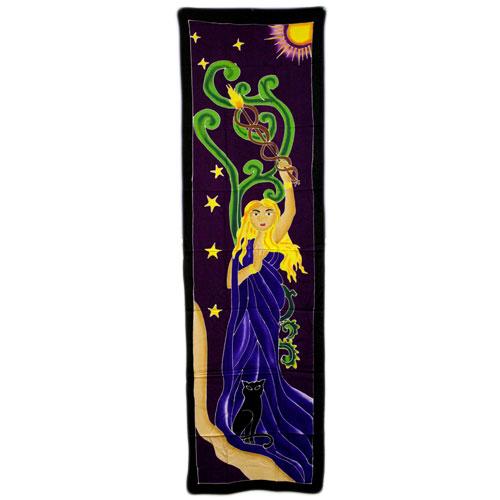 Diosa Sol (188 x 54 cm.)