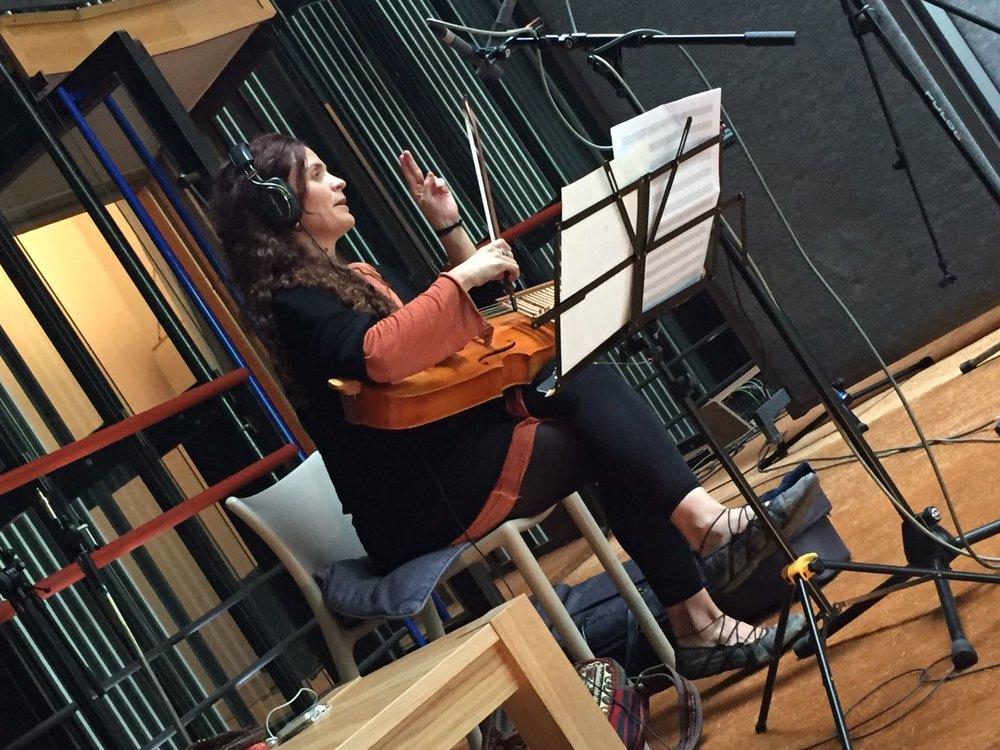 Recording at Real World Studios