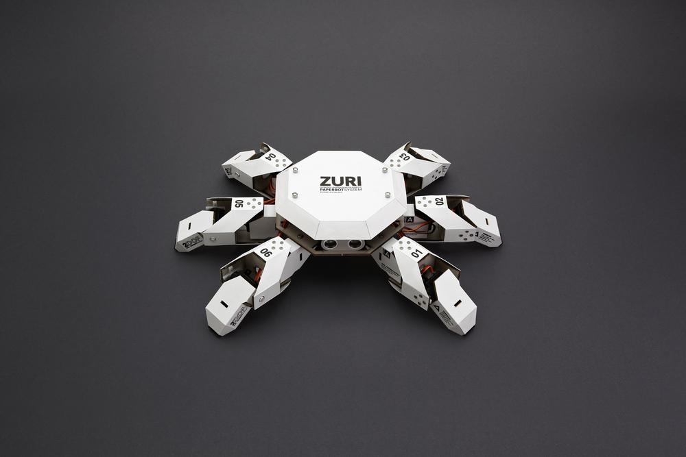 ZURI PAPERBOT SYSTEM