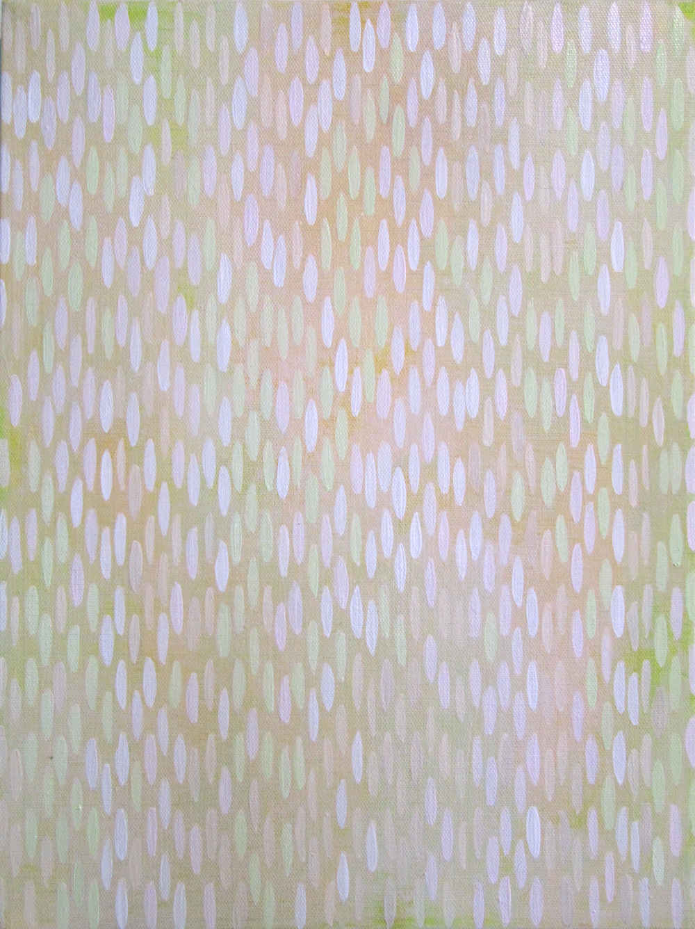 "Key Lime, 2010, acrylic on canvas, 16""x10"" (≈41x25cm)"