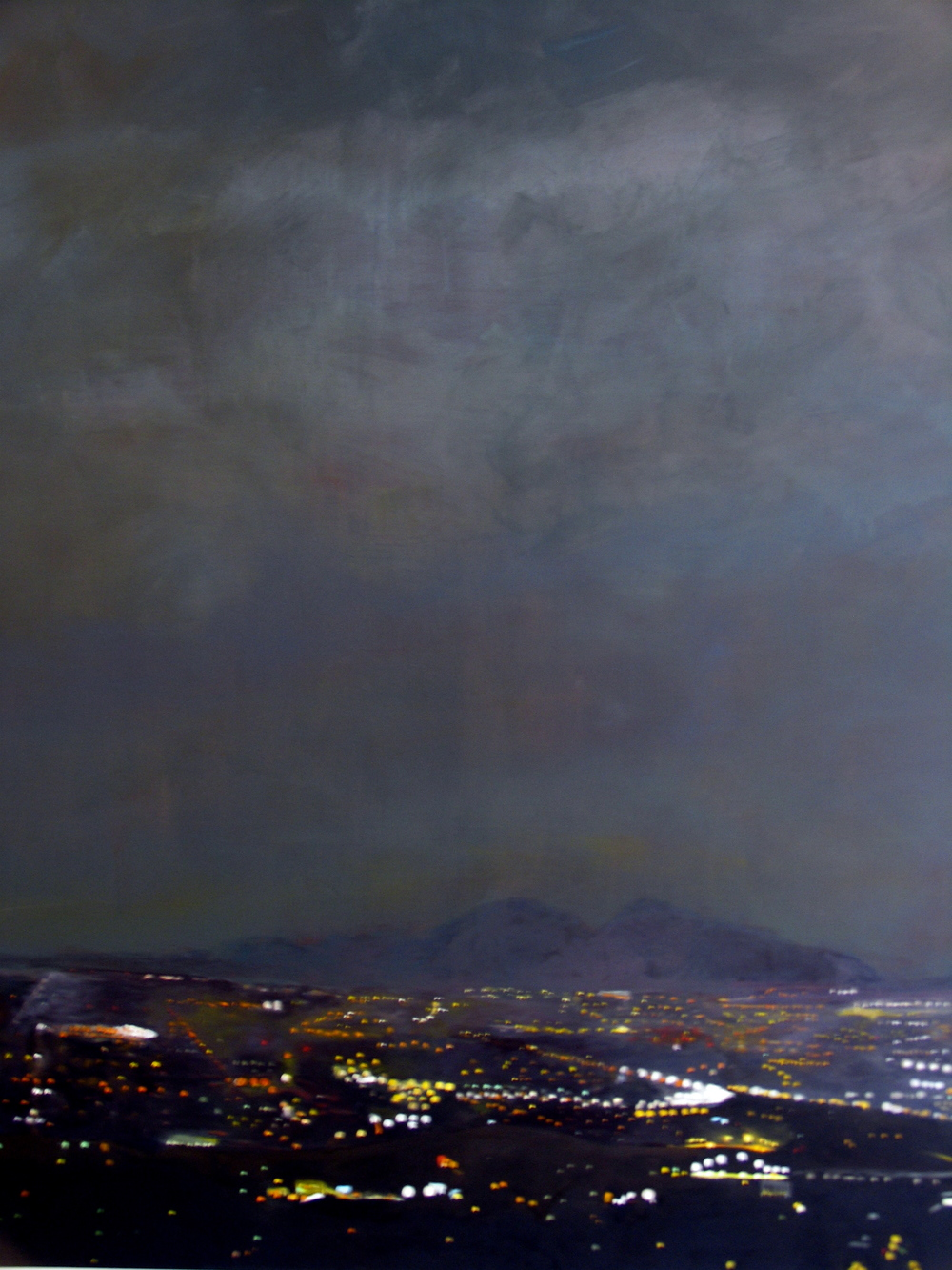 "Julika Lackner, ""To the Valley"", 2005, Oil on Canvas, 72"" x 60"""