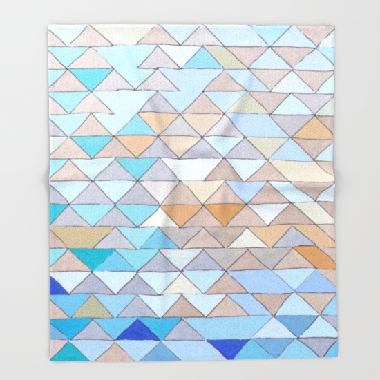 Triangles 1 Tapestry Art