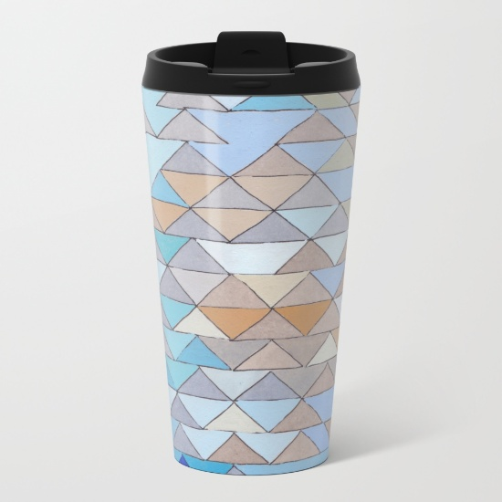 Triangles 1 Travel Mug