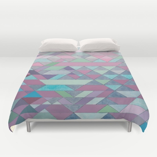 Triangles 3 Duvet