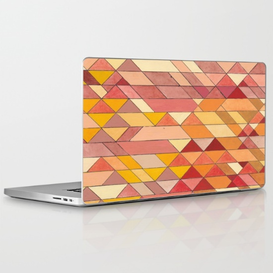Triangles 4 Laptop Skin
