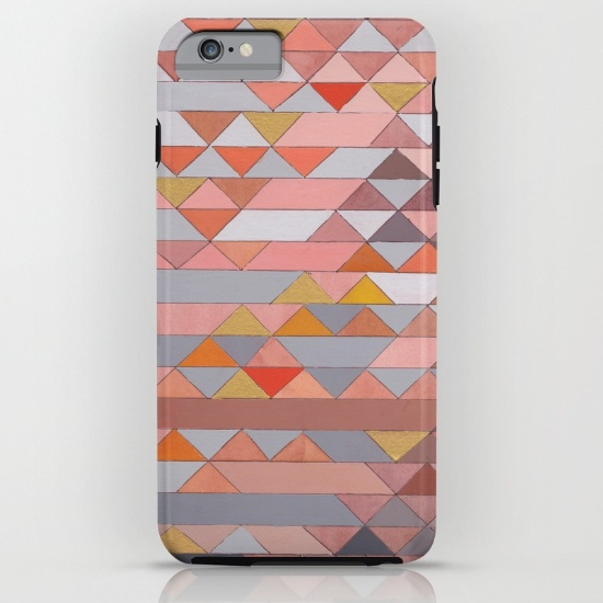 Triangles 5 iPhone Case