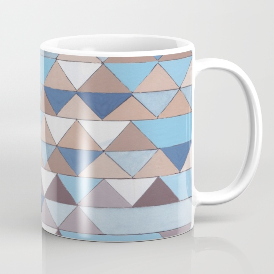 Triangles 6 Mug