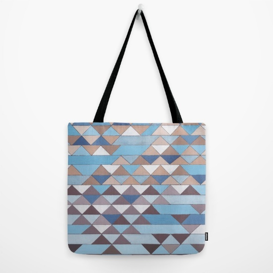 Triangles 6 Tote Bag