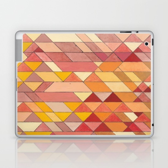 Triangles 4 iPad Skin