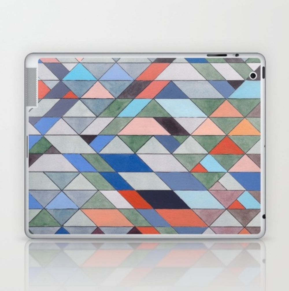 Triangles 7 iPad Skin