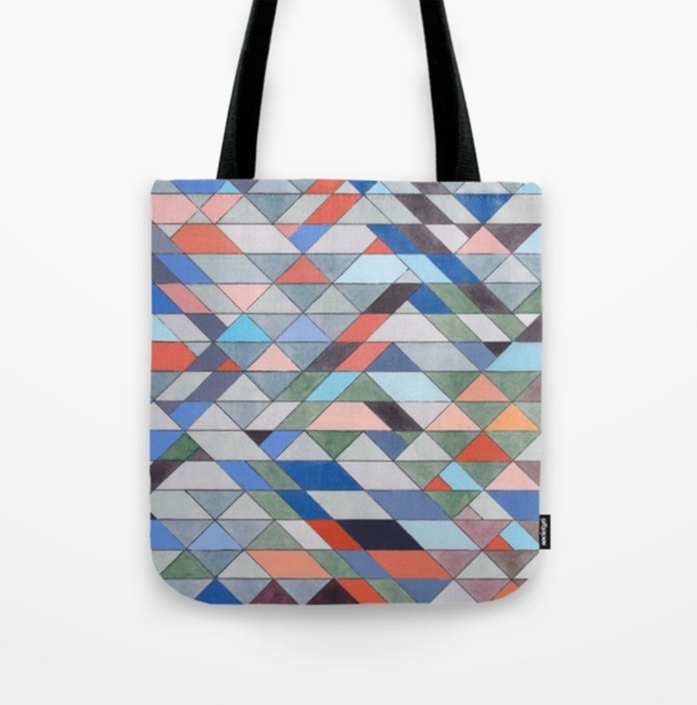 Triangles 7 Tote Bag