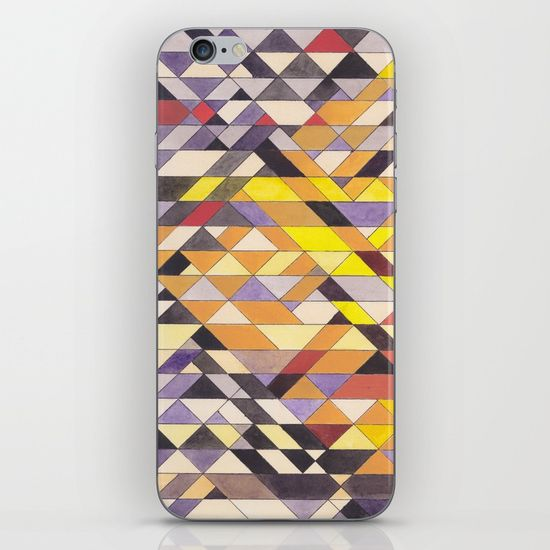 Triangles 8 iPhone Case