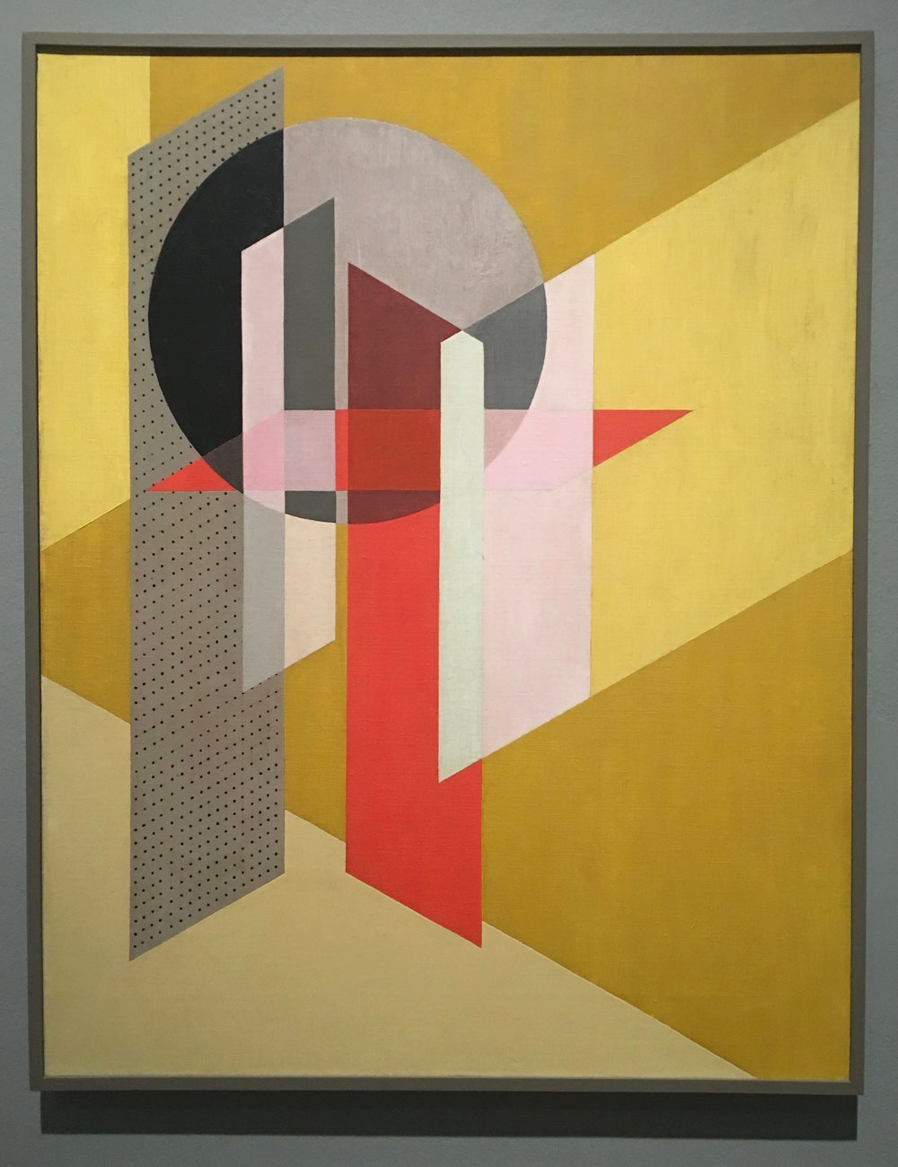 Z VII, 1926; Oil and graphite on canvas