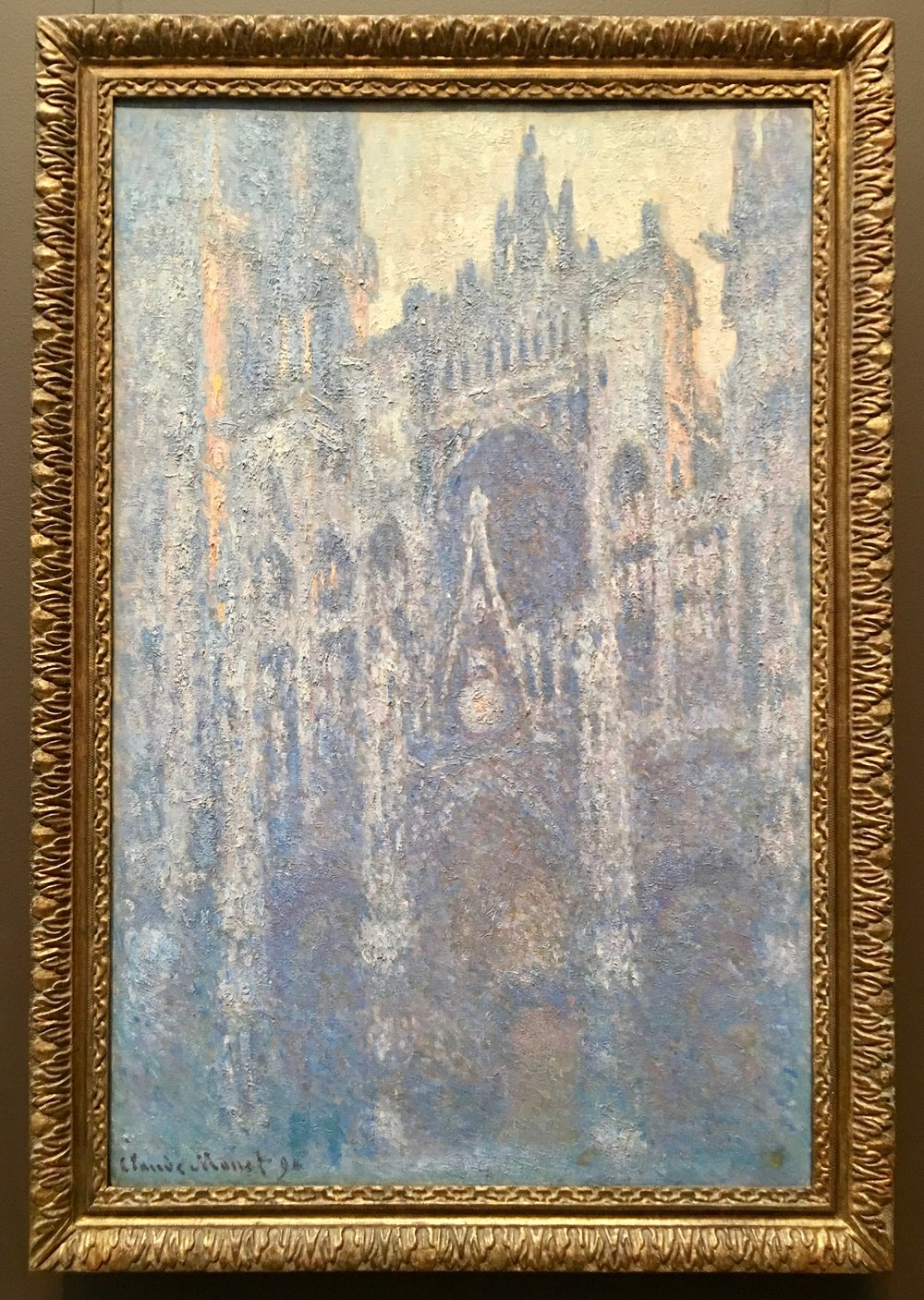 "Claude Monet, ""The Portal of Rouen Cathedral in Morning Light"", 1894"