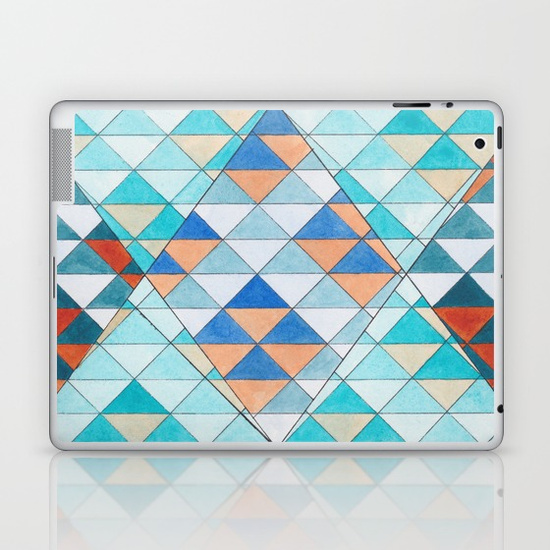 Triangles 10 Laptop Skins