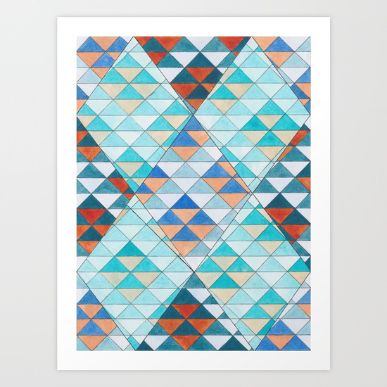 Triangles 10 Print