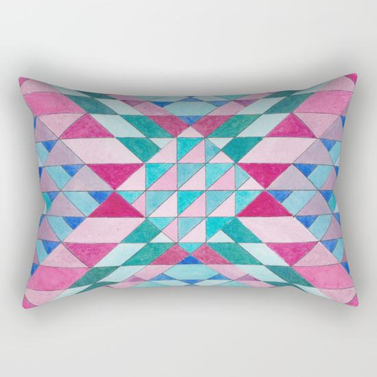 Triangles 12 Pillow