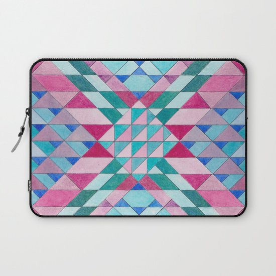 Triangles 12 Laptop Sleeve