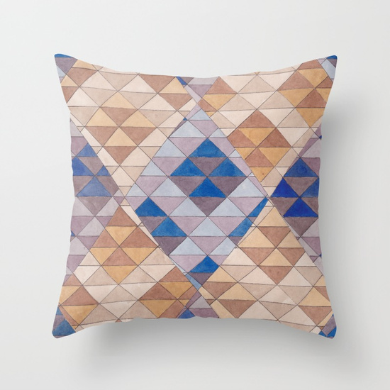 Triangles 13 Pillow