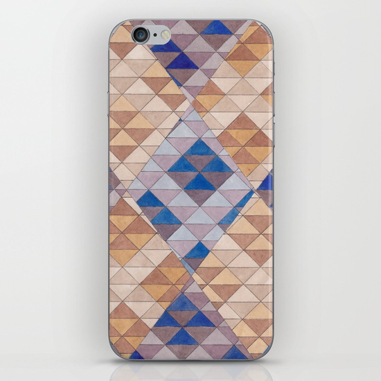 Triangles 13 iPhone Case