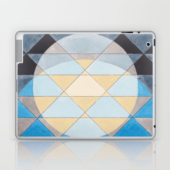 Triangles 14 iPad Case