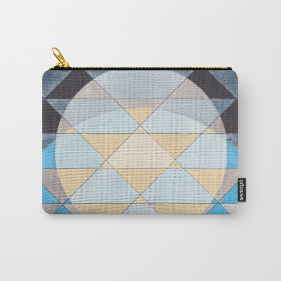 Triangles 14 Carry-all Pouch