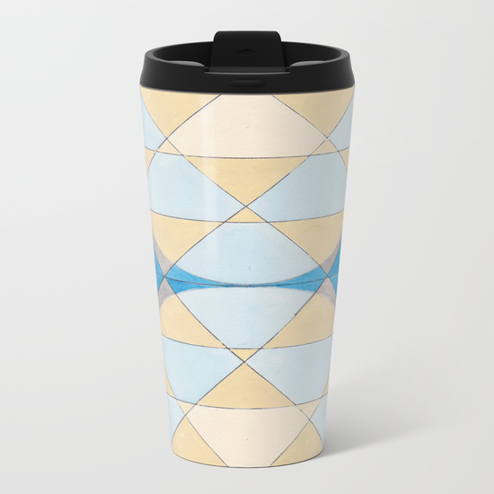 Triangles 14 Travel Mug