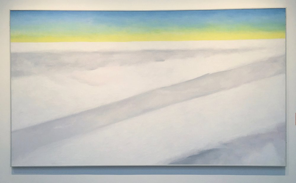 Georgia O'Keefe, Clouds 5/Yellow Horizon and Clouds, 1963/4